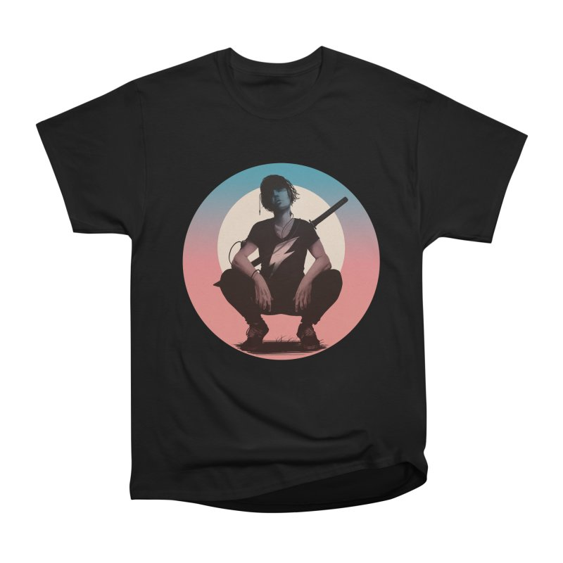 The Endling III (Colour I) Women's Heavyweight Unisex T-Shirt by Matt Griffin Apparel