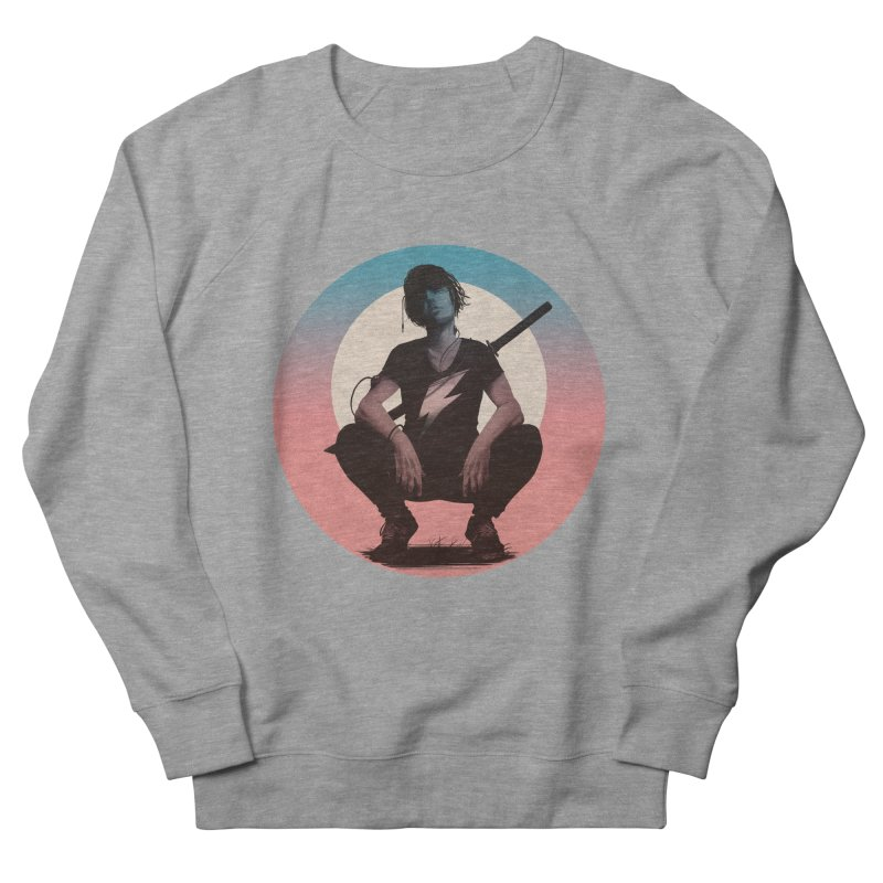 The Endling III (Colour I) Men's French Terry Sweatshirt by Matt Griffin Apparel