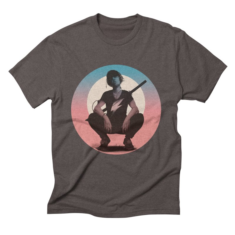 The Endling III (Colour I) Men's Triblend T-Shirt by Matt Griffin Apparel