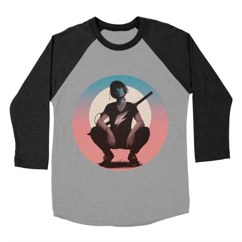 The Endling III (Colour I) Men's Baseball Triblend T-Shirt by Matt Griffin Apparel