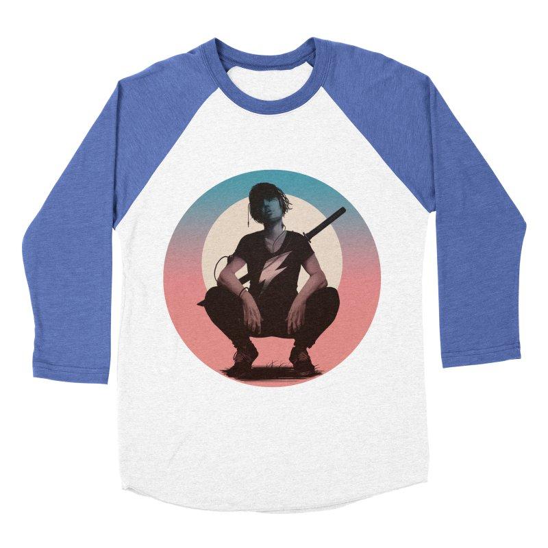 The Endling III (Colour I) Men's Baseball Triblend Longsleeve T-Shirt by Matt Griffin Apparel