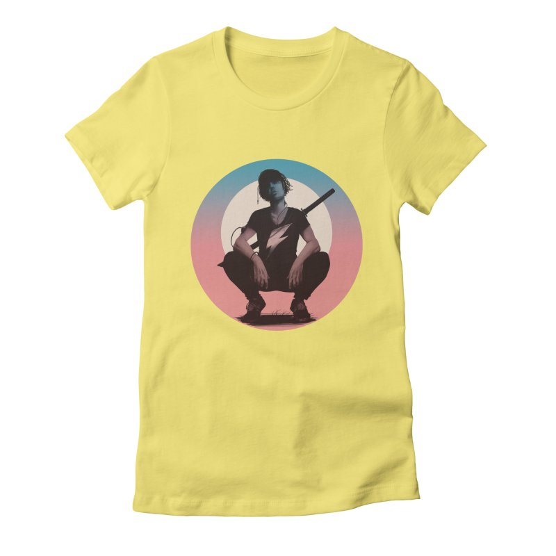 The Endling III (Colour I) Women's Fitted T-Shirt by Matt Griffin Apparel