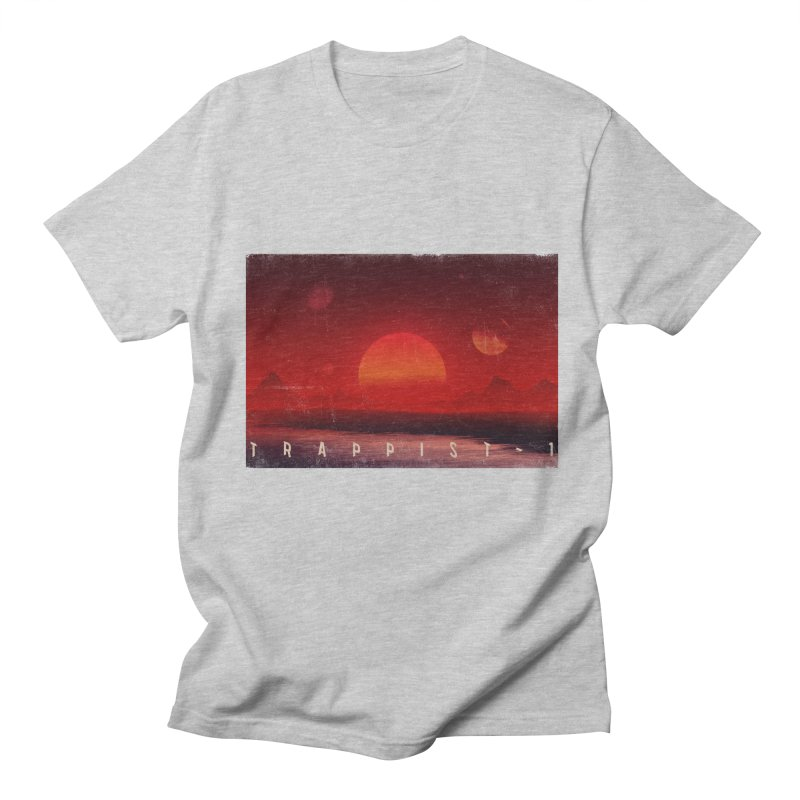 Trappist-1 Men's T-Shirt by Matt Griffin Apparel