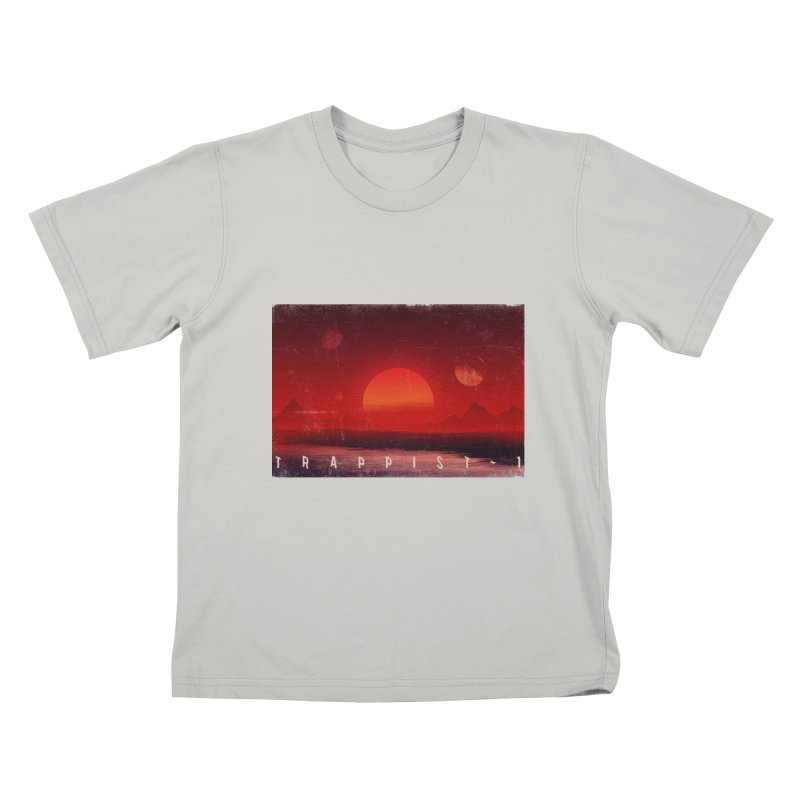 Trappist-1 Kids T-Shirt by Matt Griffin Apparel