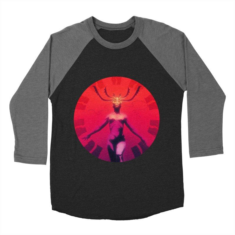 Oracle I Men's Baseball Triblend Longsleeve T-Shirt by Matt Griffin Apparel