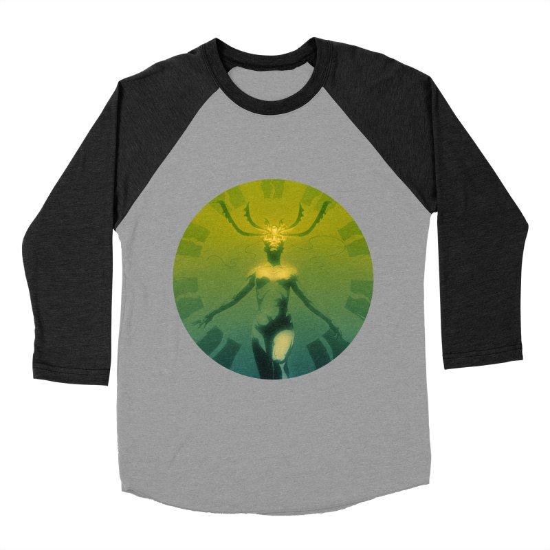 Oracle II Men's Baseball Triblend Longsleeve T-Shirt by Matt Griffin Apparel