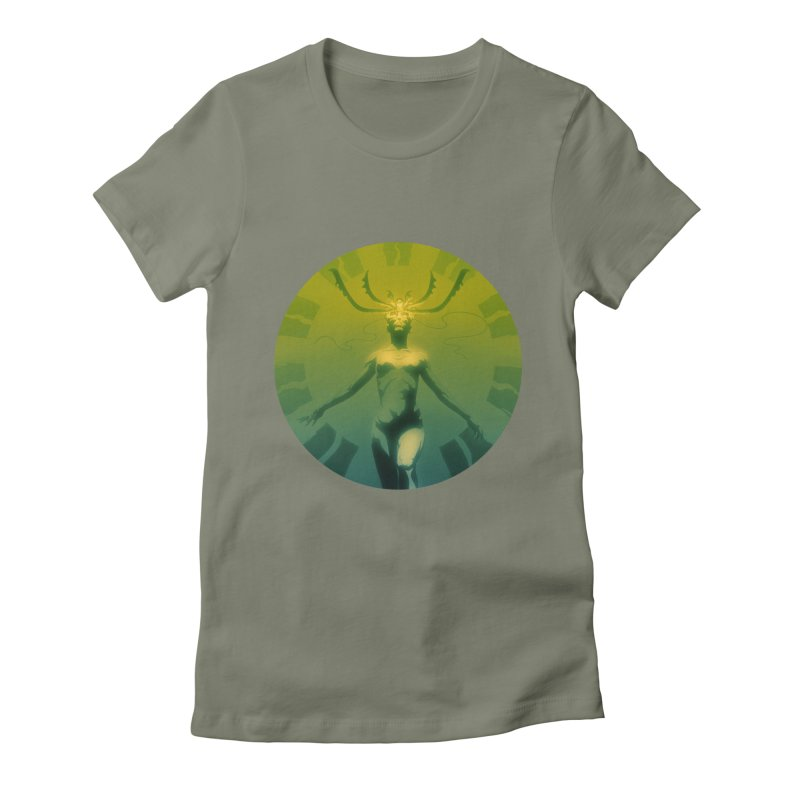 Oracle II Women's Fitted T-Shirt by Matt Griffin Apparel