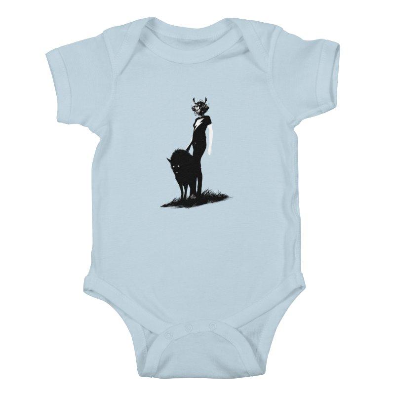The Endling Kids Baby Bodysuit by Matt Griffin Apparel