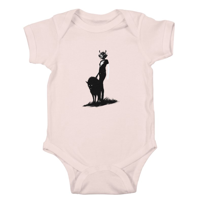 The Endling  Kids Baby Bodysuit by Matt Griffin Apparel