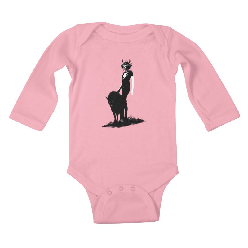 The Endling Kids Baby Longsleeve Bodysuit by Matt Griffin Apparel