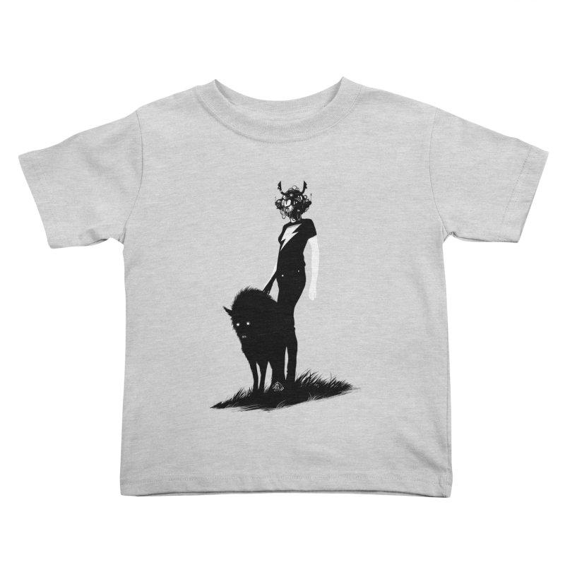 The Endling  Kids Toddler T-Shirt by Matt Griffin Apparel