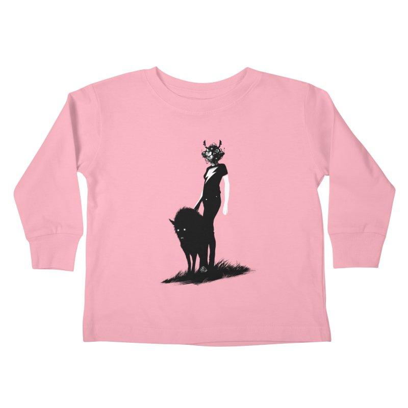The Endling  Kids Toddler Longsleeve T-Shirt by Matt Griffin Apparel