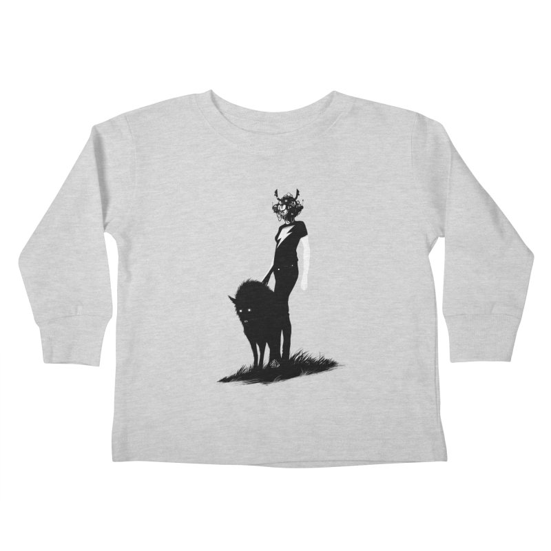 The Endling Kids Toddler Longsleeve T-Shirt by Matt Griffin Apparel
