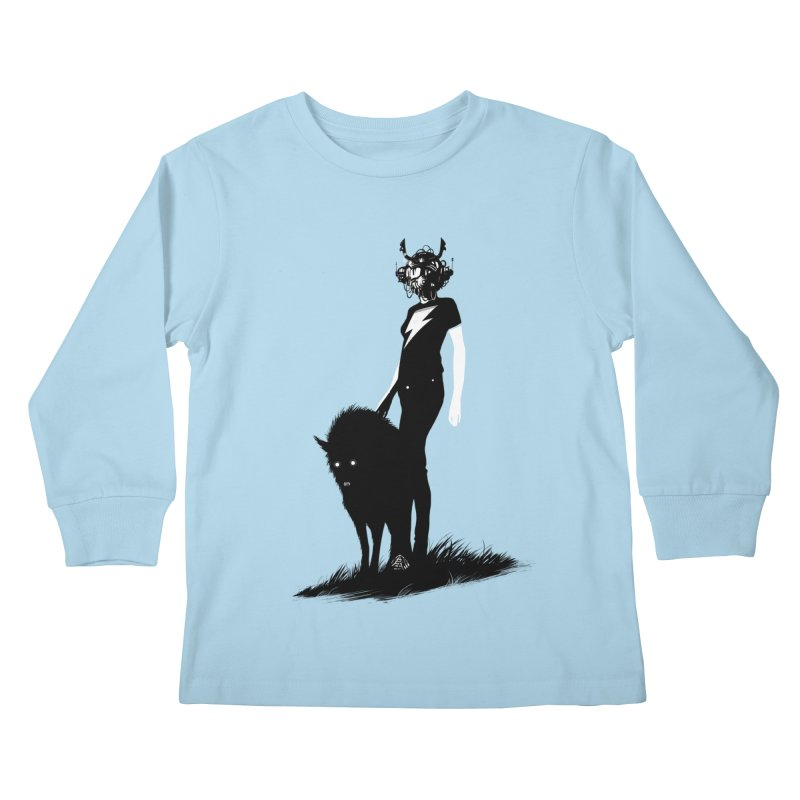 The Endling  Kids Longsleeve T-Shirt by Matt Griffin Apparel