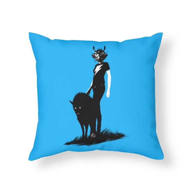 The Endling  Home Throw Pillow by Matt Griffin Apparel