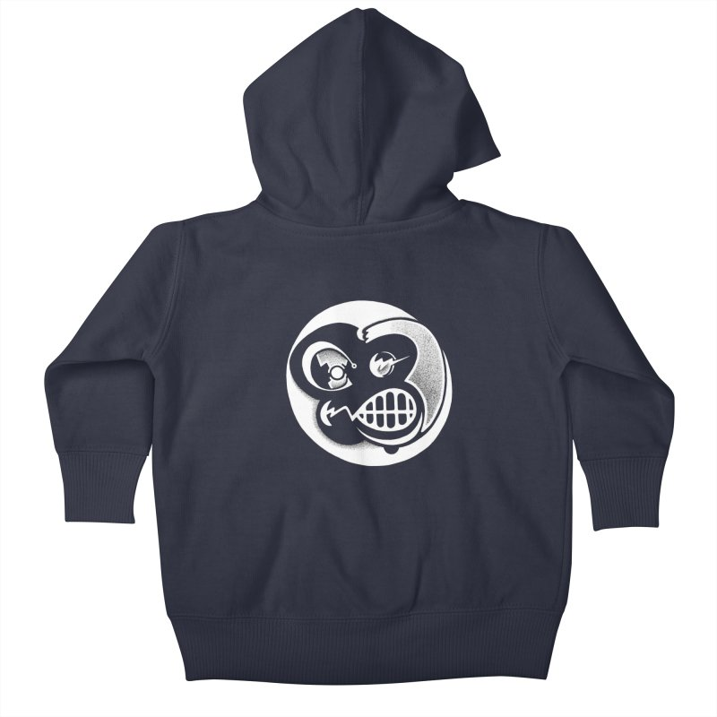 Billy (Reverse) Kids Baby Zip-Up Hoody by T-shirts, Apparel, Phone Cases +