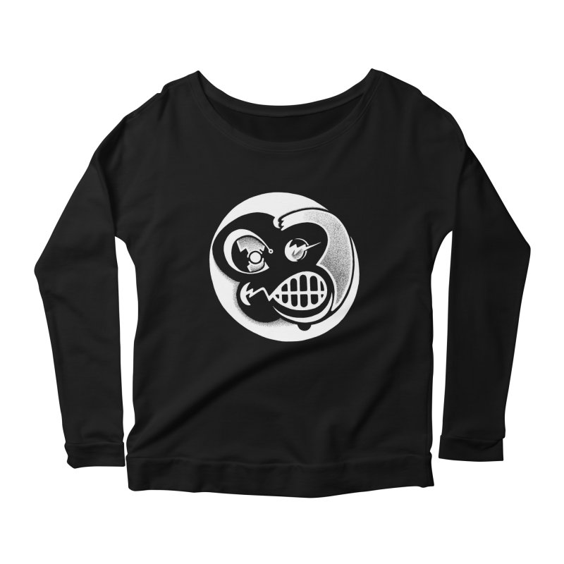 Billy (Reverse) Women's Longsleeve Scoopneck  by thrdlss.com -- T-shirts, Apparel, Phone Cases +