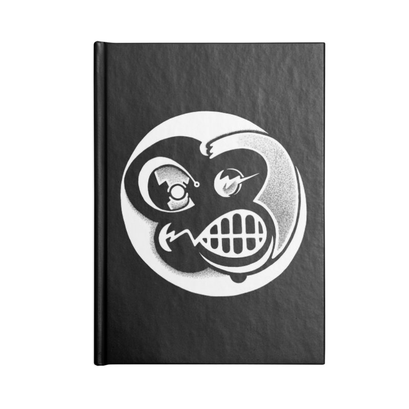 Billy (Reverse) Accessories Blank Journal Notebook by thrdlss.com -- T-shirts, Apparel, Phone Cases +