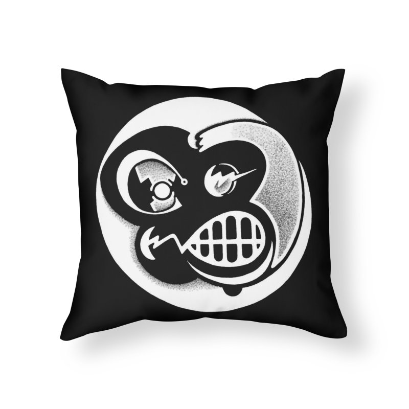 Billy (Reverse) Home Throw Pillow by T-shirts, Apparel, Phone Cases +