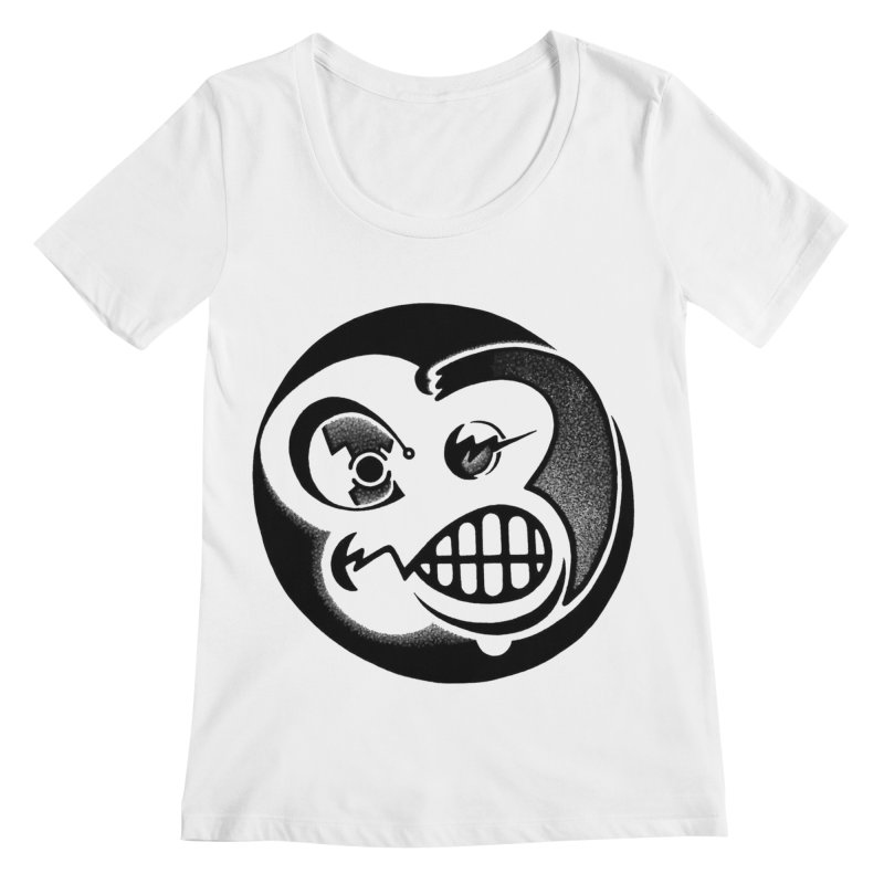 Billy Women's Scoopneck by thrdlss.com -- T-shirts, Apparel, Phone Cases +