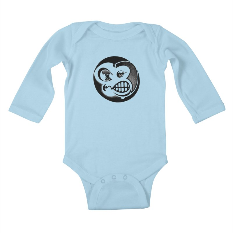 Billy Kids Baby Longsleeve Bodysuit by thrdlss.com -- T-shirts, Apparel, Phone Cases +