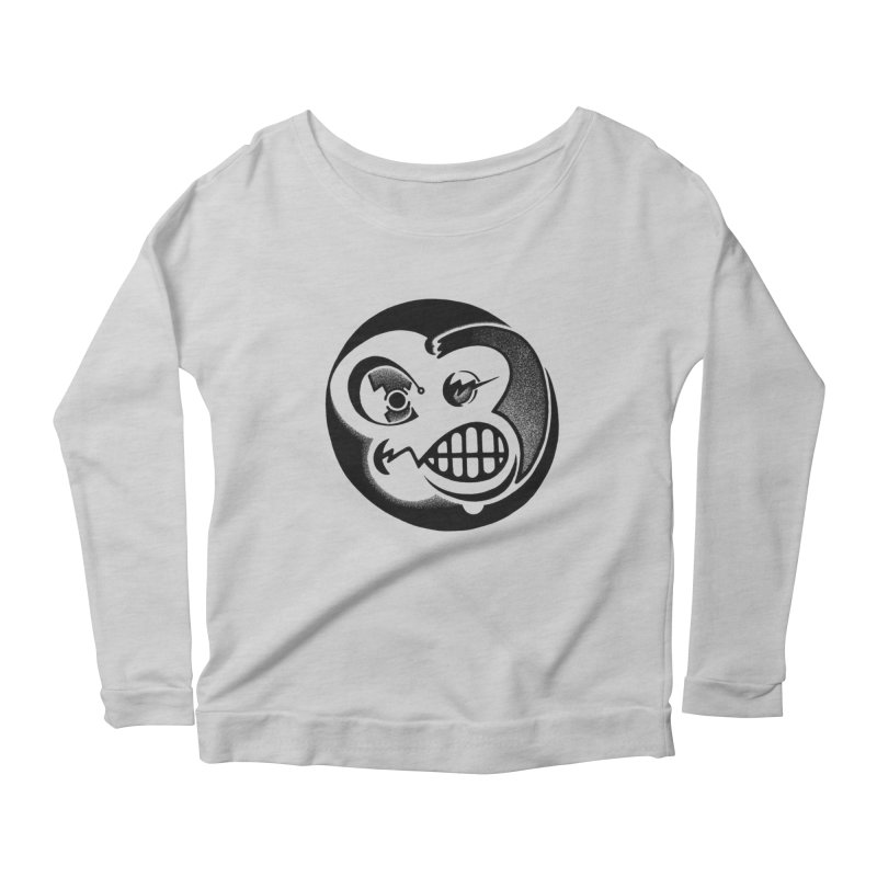 Billy Women's Longsleeve Scoopneck  by thrdlss.com -- T-shirts, Apparel, Phone Cases +