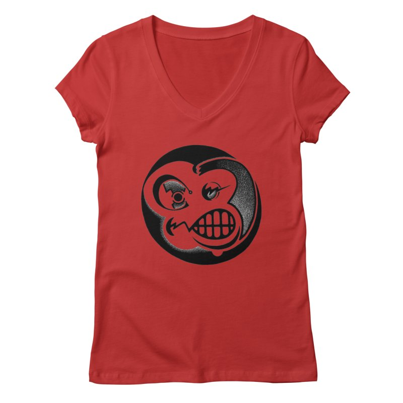 Billy Women's Regular V-Neck by thrdlss.com -- T-shirts, Apparel, Phone Cases +
