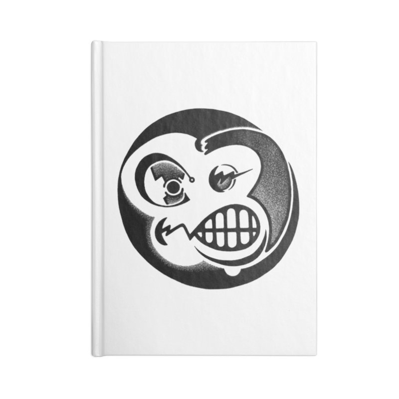 Billy Accessories Blank Journal Notebook by thrdlss.com -- T-shirts, Apparel, Phone Cases +