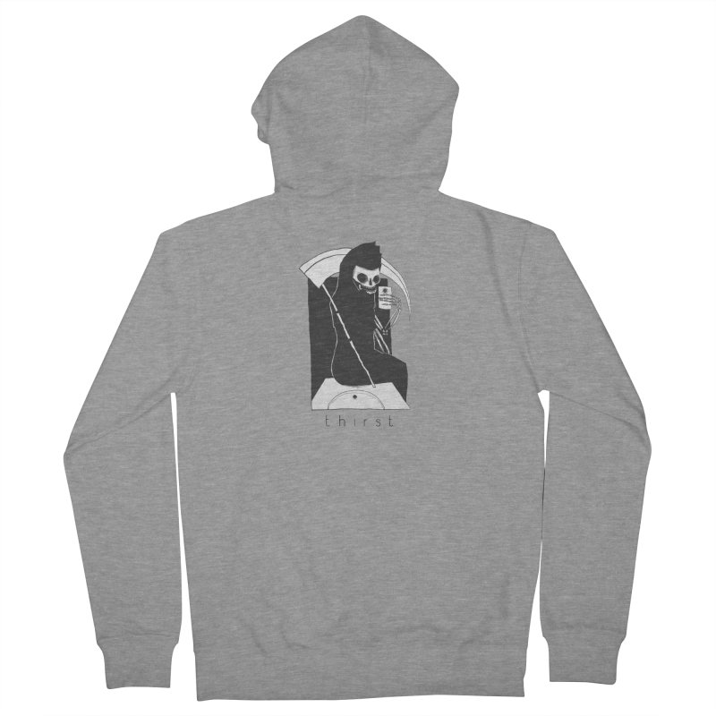 thirst Men's Zip-Up Hoody by matthewkocanda's Artist Shop