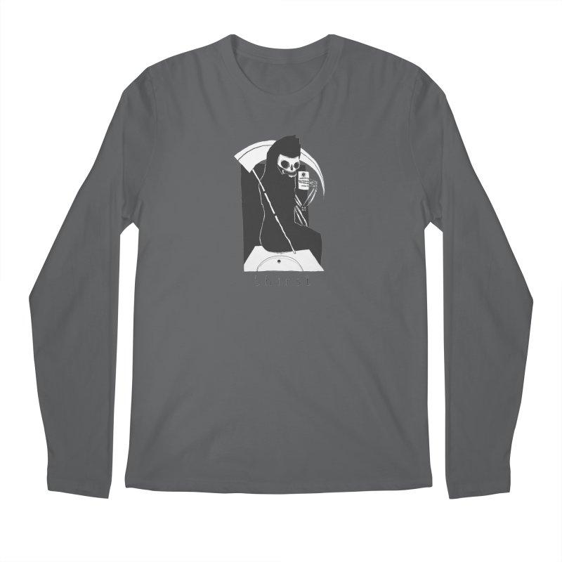 thirst Men's Regular Longsleeve T-Shirt by matthewkocanda's Artist Shop