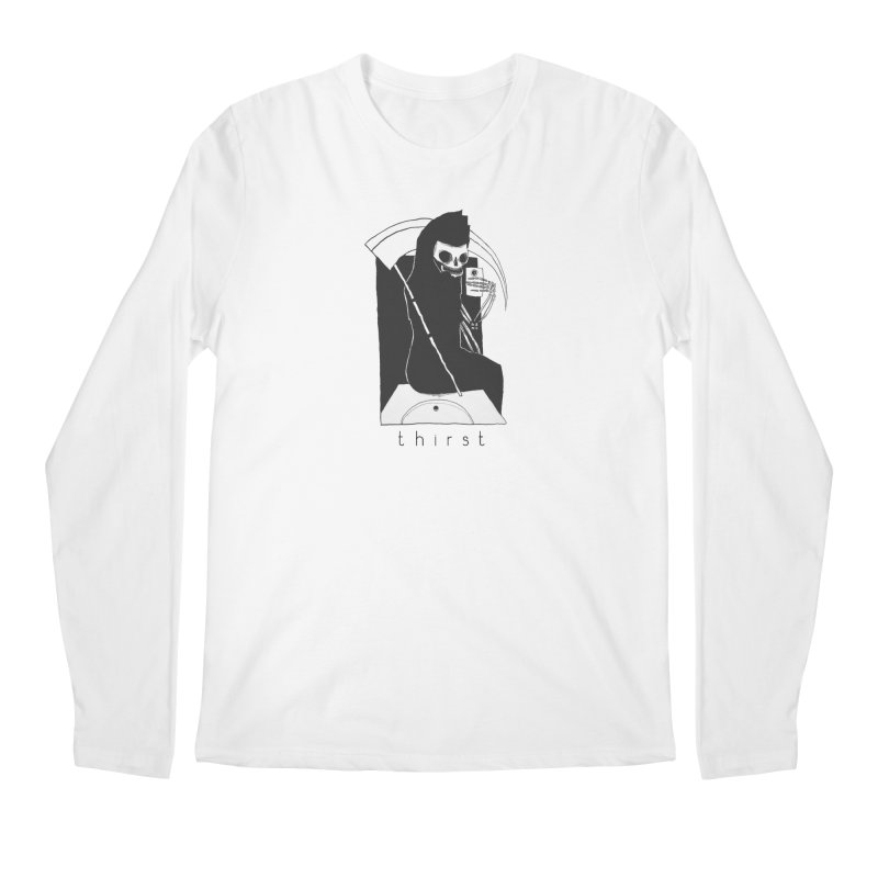 thirst Men's Longsleeve T-Shirt by matthewkocanda's Artist Shop