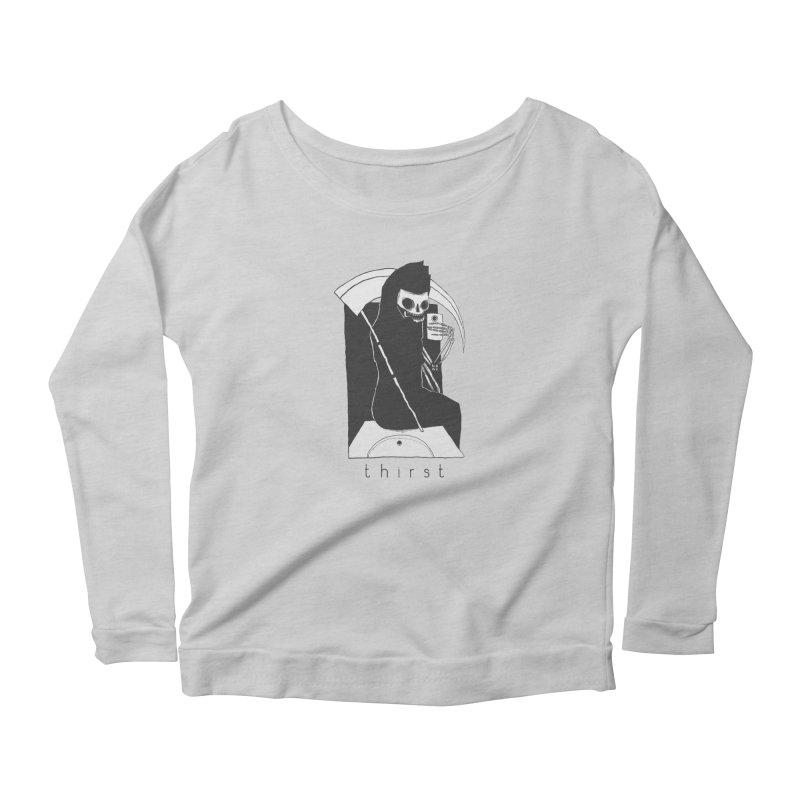 thirst Women's Scoop Neck Longsleeve T-Shirt by matthewkocanda's Artist Shop