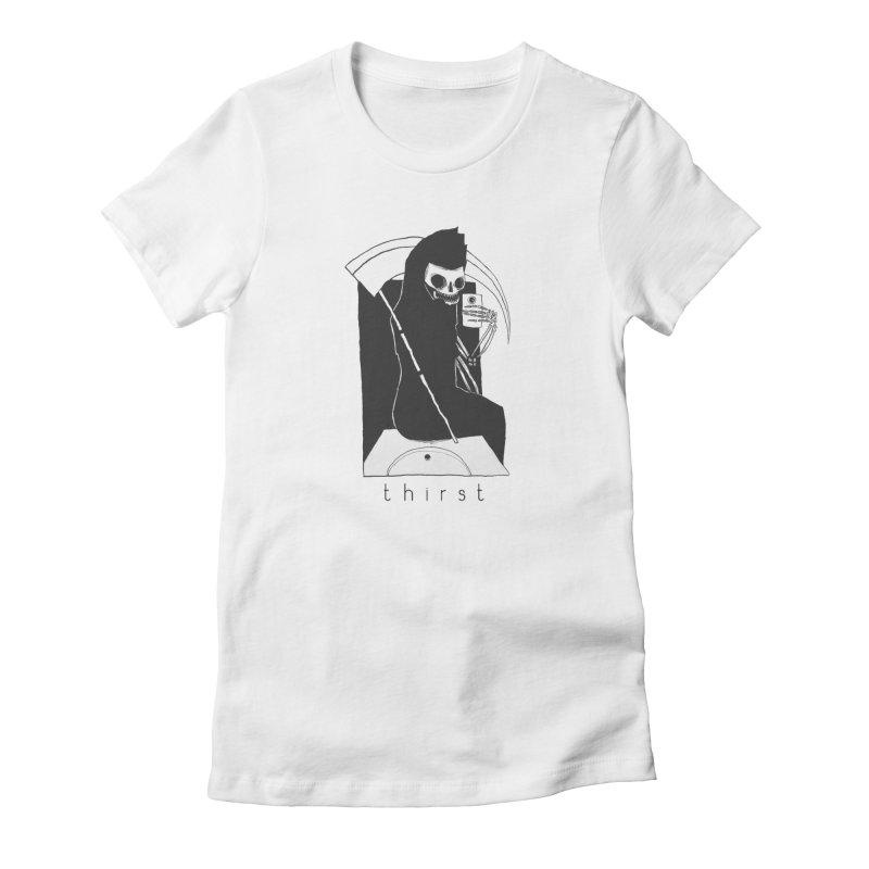 thirst Women's Fitted T-Shirt by matthewkocanda's Artist Shop