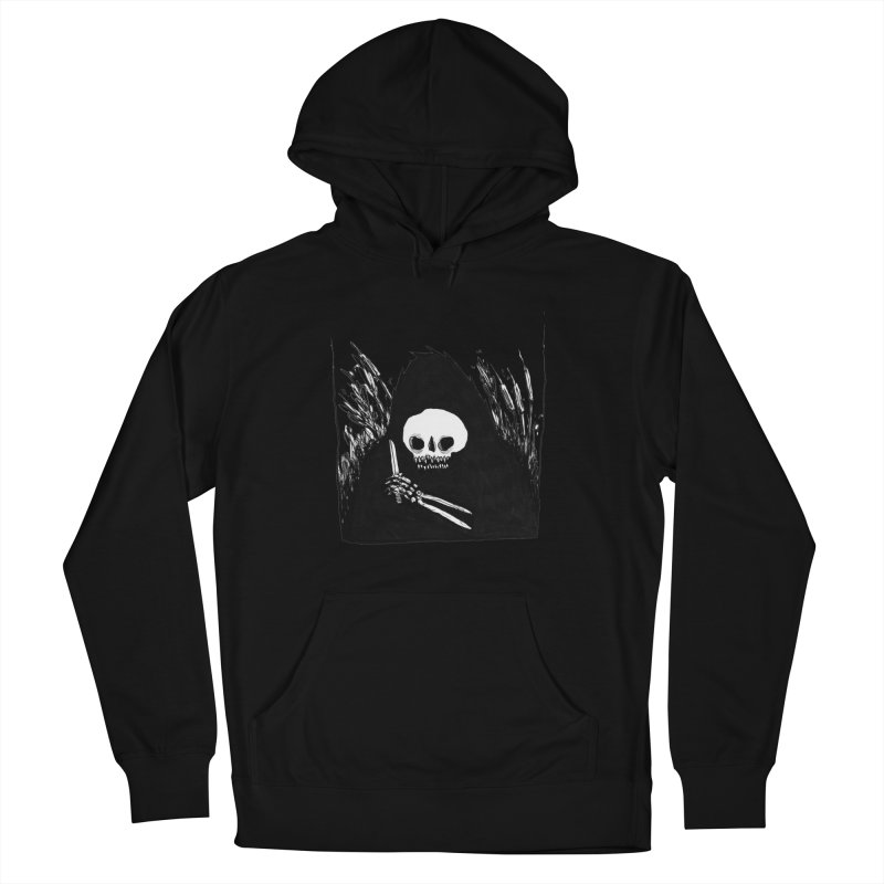 waiting for you Men's French Terry Pullover Hoody by matthewkocanda's Artist Shop