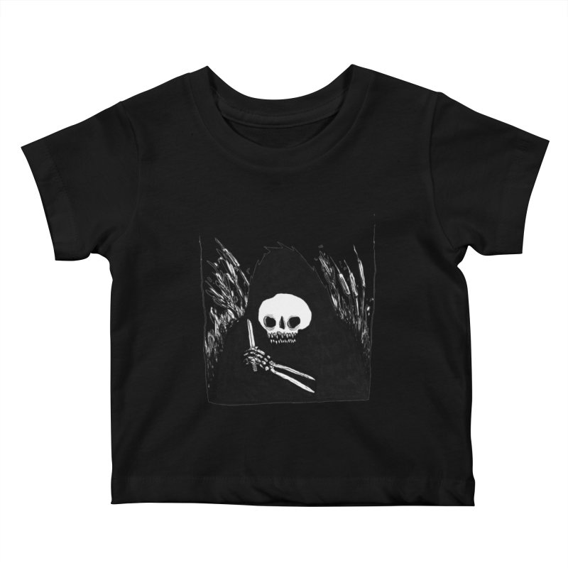 waiting for you Kids Baby T-Shirt by matthewkocanda's Artist Shop