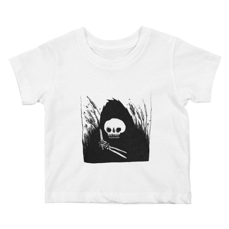 waiting for you Kids Baby T-Shirt by matthewkocanda's Artist Shop