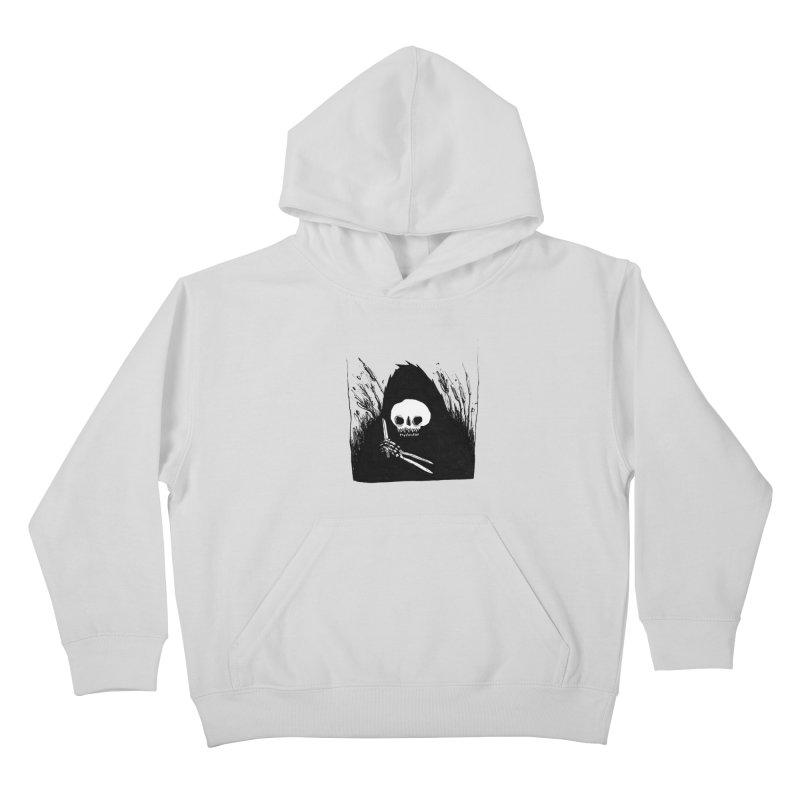 waiting for you Kids Pullover Hoody by matthewkocanda's Artist Shop