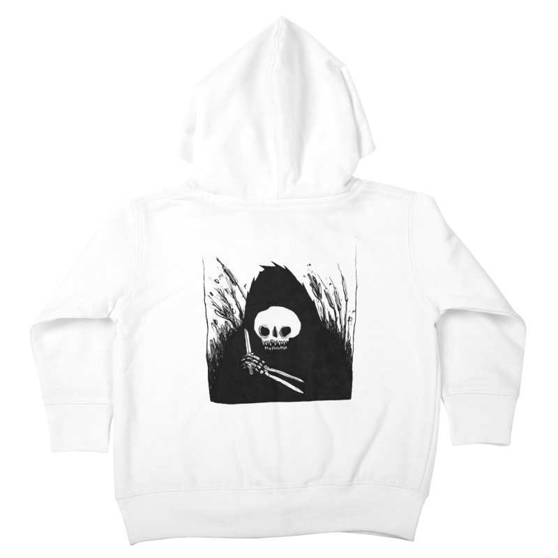 waiting for you Kids Toddler Zip-Up Hoody by matthewkocanda's Artist Shop
