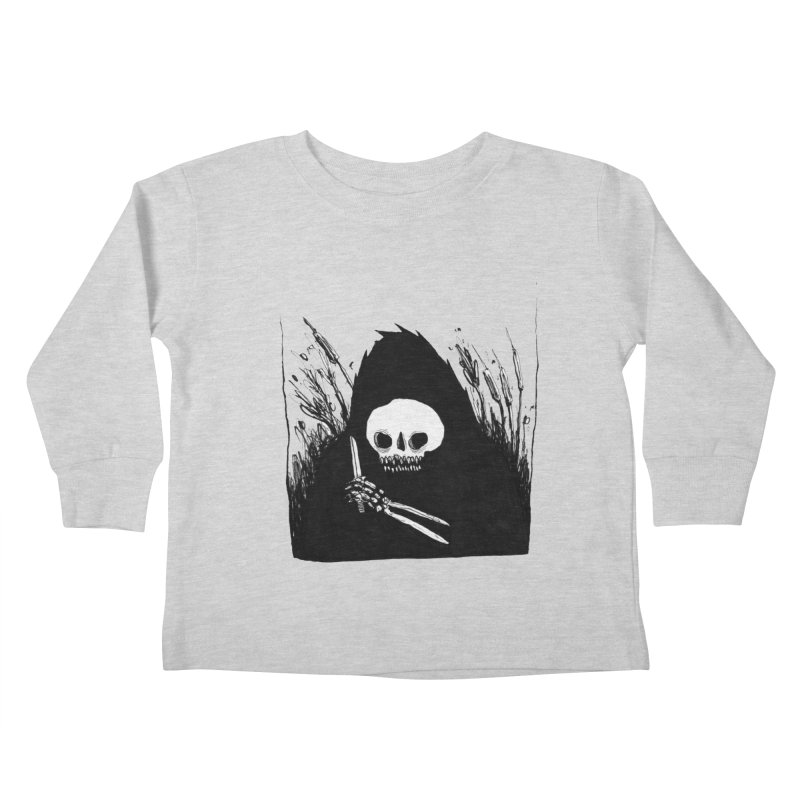 waiting for you Kids Toddler Longsleeve T-Shirt by matthewkocanda's Artist Shop