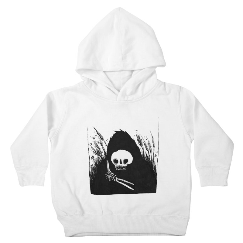 waiting for you Kids Toddler Pullover Hoody by matthewkocanda's Artist Shop