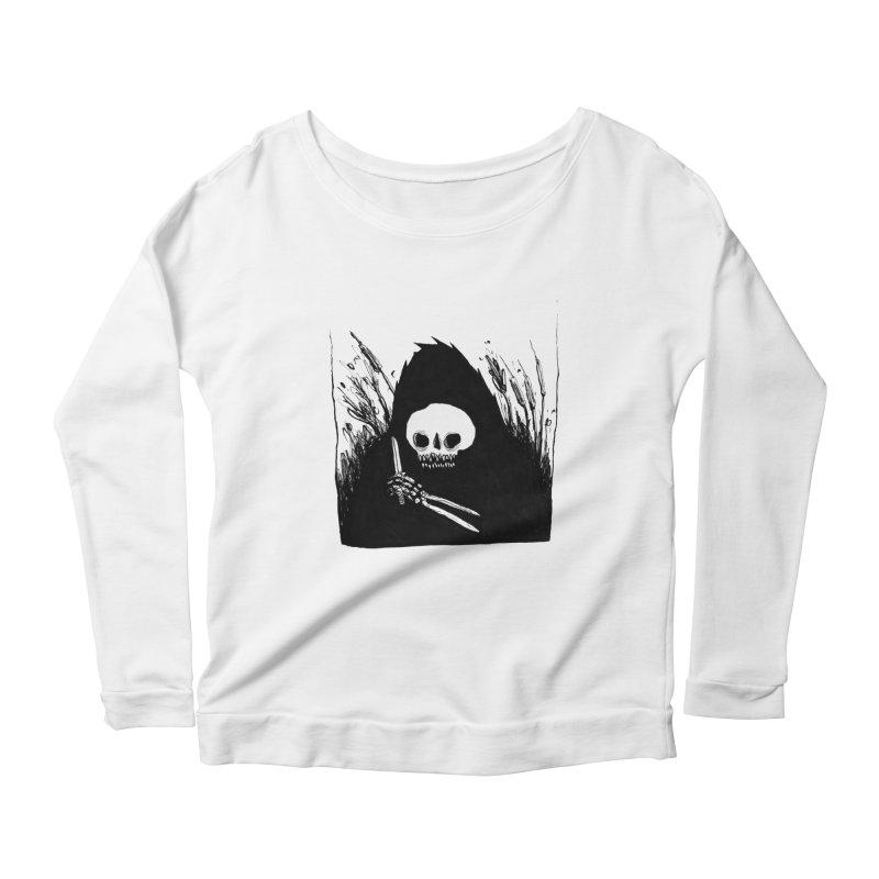 waiting for you Women's Scoop Neck Longsleeve T-Shirt by matthewkocanda's Artist Shop