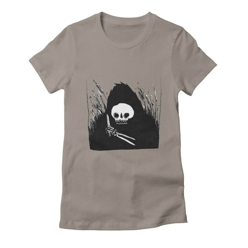 waiting for you Women's Fitted T-Shirt by matthewkocanda's Artist Shop
