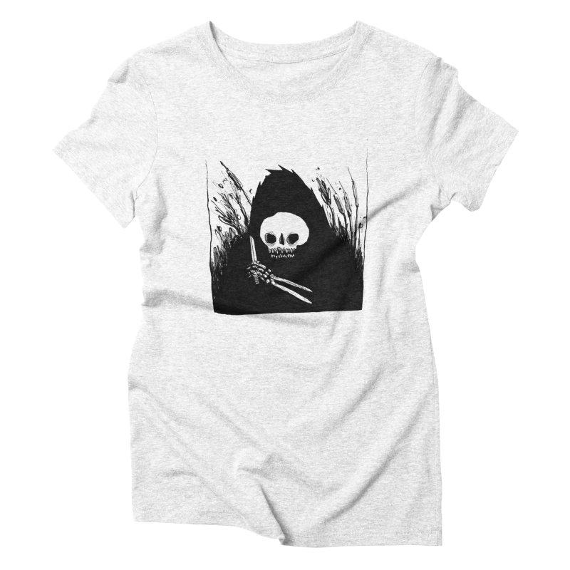 waiting for you Women's Triblend T-shirt by matthewkocanda's Artist Shop