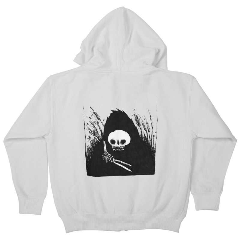 waiting for you Kids Zip-Up Hoody by matthewkocanda's Artist Shop