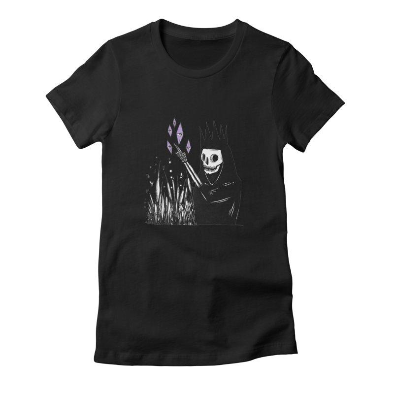 new year, same bullshit Women's Fitted T-Shirt by matthewkocanda's Artist Shop