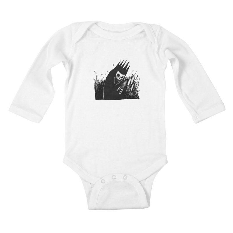 satisfy Kids Baby Longsleeve Bodysuit by matthewkocanda's Artist Shop
