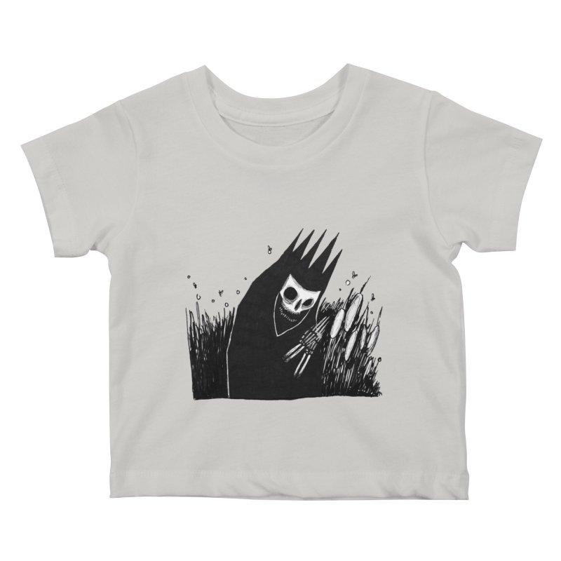satisfy Kids Baby T-Shirt by matthewkocanda's Artist Shop