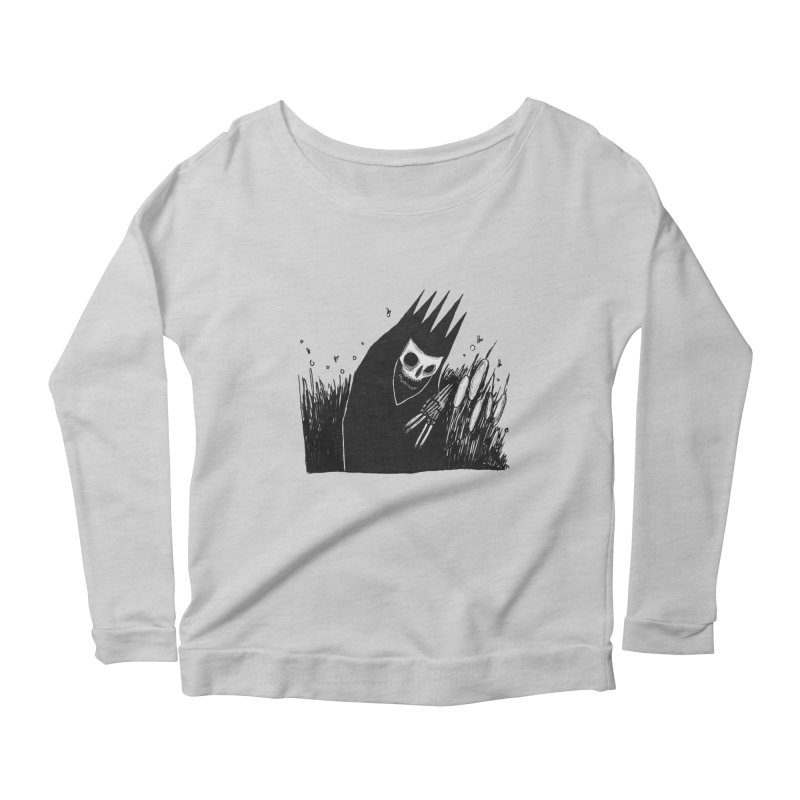 satisfy Women's Scoop Neck Longsleeve T-Shirt by matthewkocanda's Artist Shop