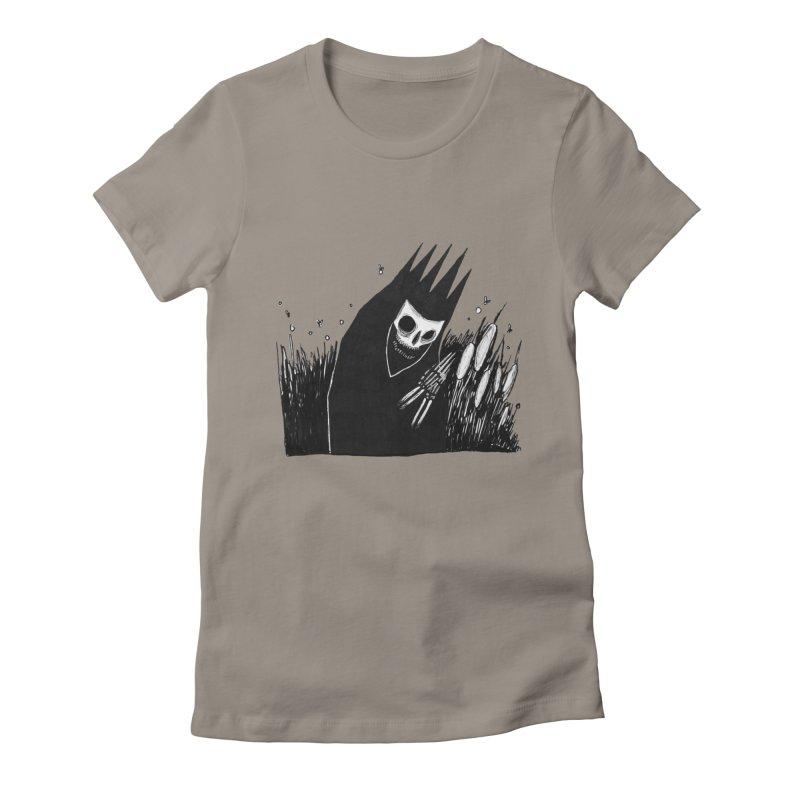 satisfy Women's Fitted T-Shirt by matthewkocanda's Artist Shop