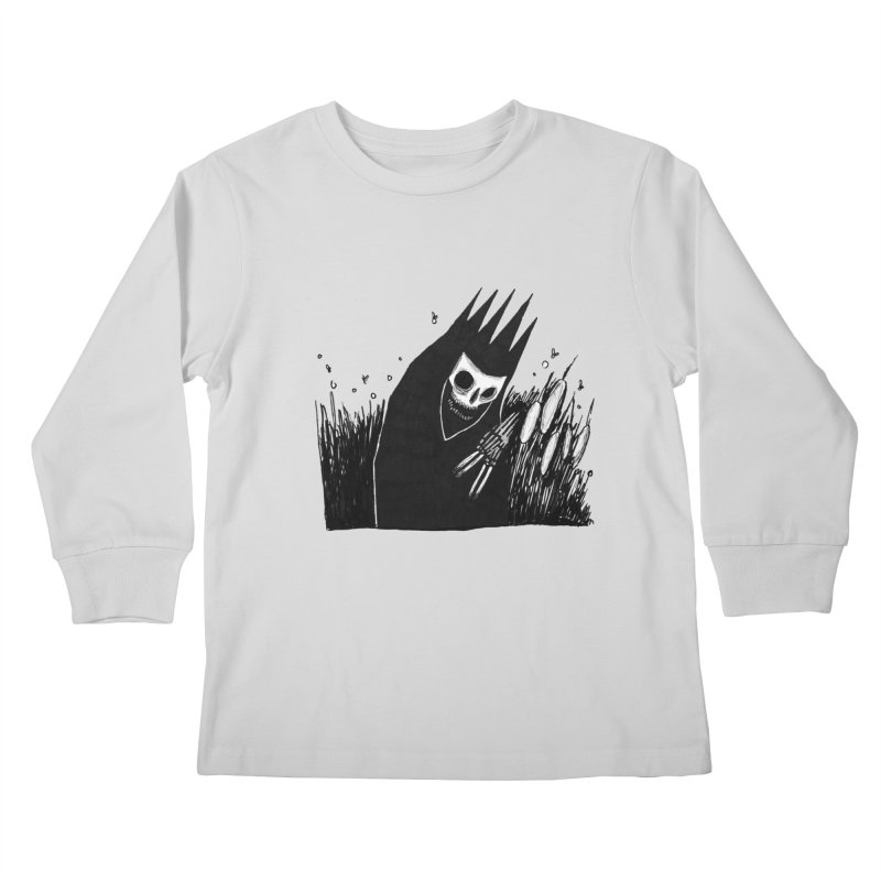 satisfy Kids Longsleeve T-Shirt by matthewkocanda's Artist Shop